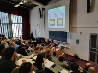 Università di Torino, convegno codice Braille. Aula vista dall'alto