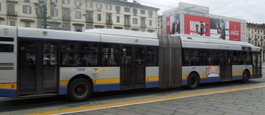 Un autobus GTT