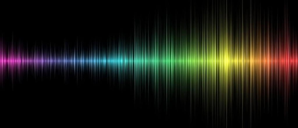 Un'onda sonora vista al computer