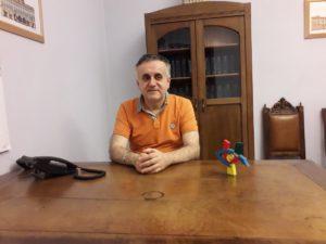Il presidente UICI Torino, Gianni Laiolo