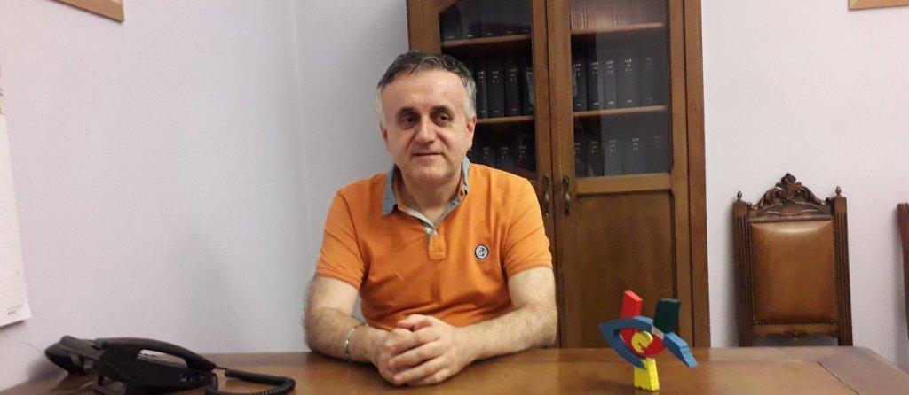 Il presidente UICI Torino, Giovanni Laiolo