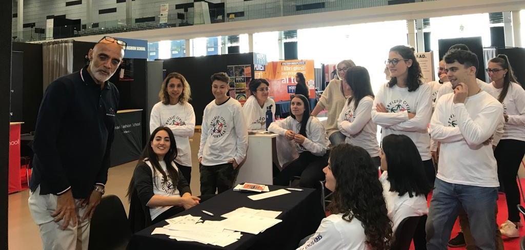 Giovani del Servizio Civile Universale al Salone dello Studente
