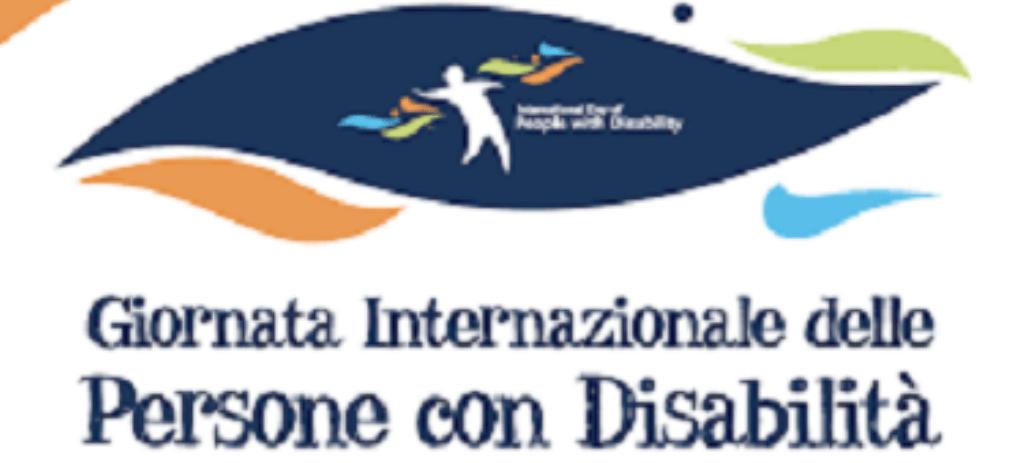 Logo Giornata Internazionale Persone con Disabilità