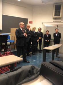 Inaugurazione corso di formazione Onav Torino. I relatori introducono in corso