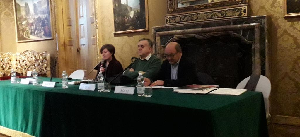 Palazzo Madama: Gianni Laiolo Anna La Ferla, Rocco Rolli