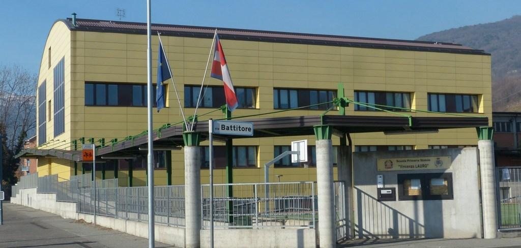 scuola Puccini Pinerolo, esterno