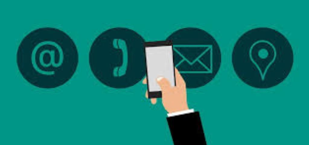 disegno smartphone, telefono, email