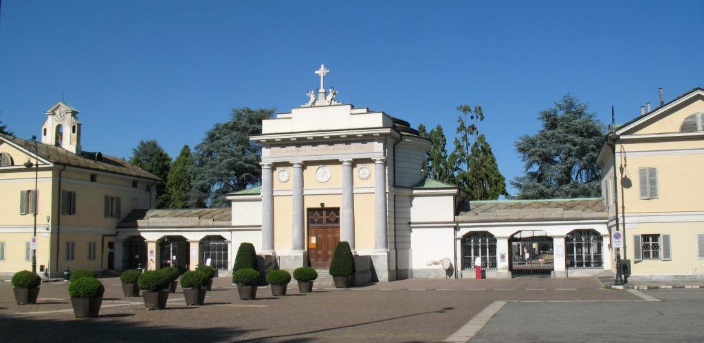 Cimitero monumentale Torino ingresso