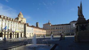 Torino, veduta di piazza Castello