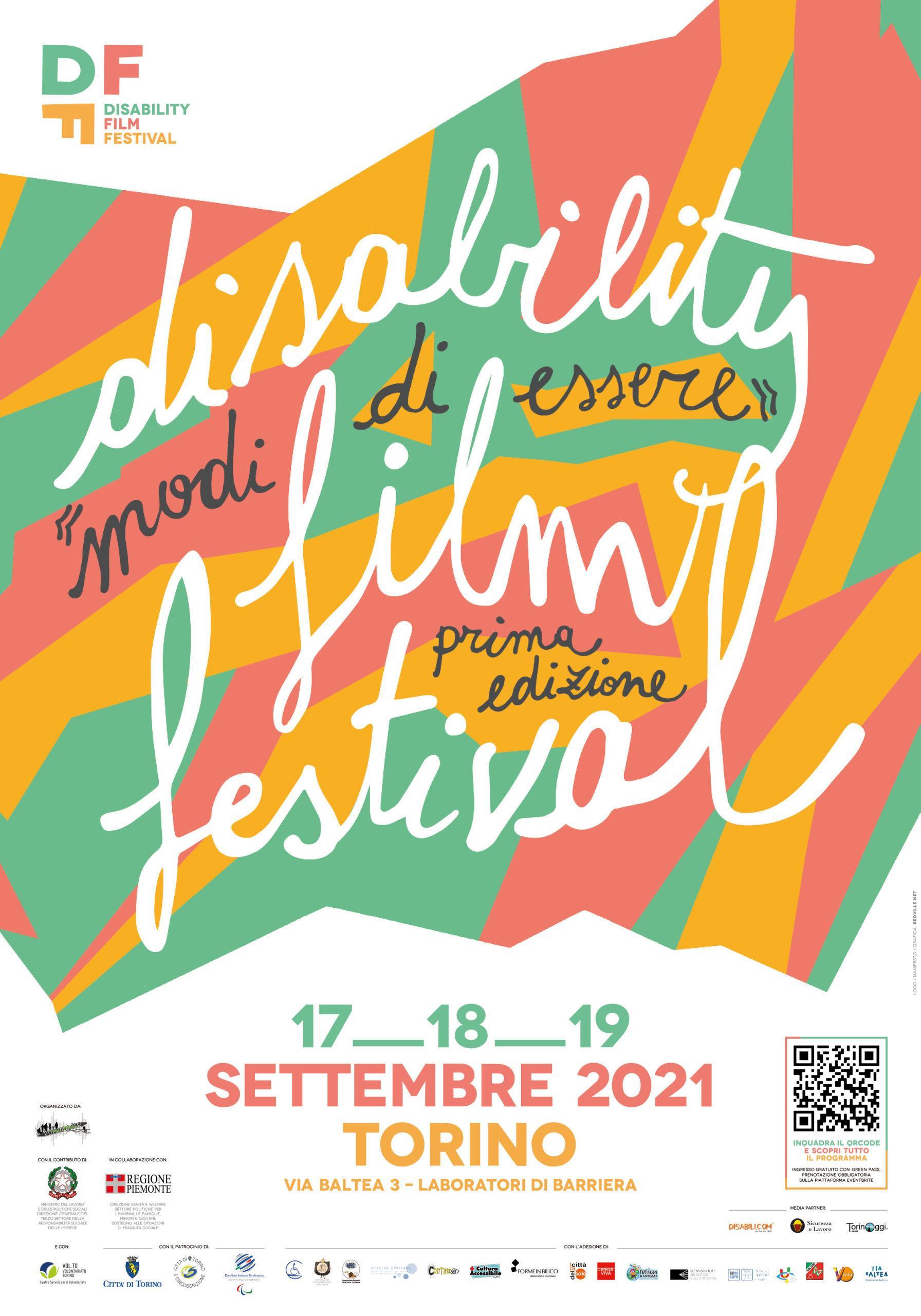 locandina Disability Film Festival